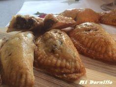 Mi Dornillo, la cocina de Estela.: Empanadillas de morcilla y queso manchego.#elsecretoestaenlamasa