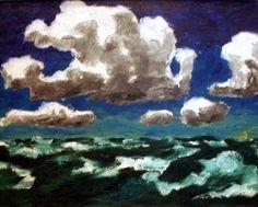 Emil Nolde sky painting.