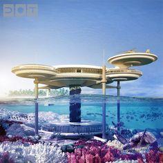 Submarine Structures: 7 Wonders of Underwater Architecture