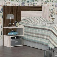 As cabeceiras de multifunção são ideais para quem deseja praticidade na hora de decorar o quarto.