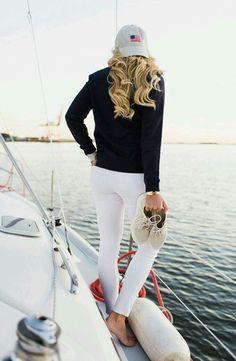 Nautical Outfits, Nautical Fashion, Preppy Outfits, Preppy Style, Classy Outfits, Boat Fashion, Nautical Style, Curvy Fashion, Work Outfits