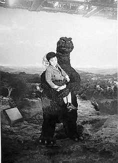 Godzilla, friend of the children . . .