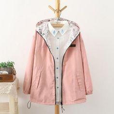 Women Jacket Coat Hooded