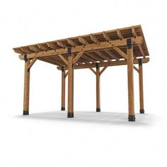 Add style while extending your living space beyond the walls of your house with the help of Project Ironwood Patio Pergola. While some believe a pergola to be simply a set of column support with a lattice-type roof, it is much more than that.