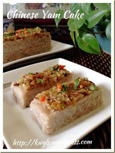 Chinese Steamed Yam And Pumpkin Cake (芋头金瓜糕) | GUAI SHU SHU#guaishushu#kenneth_goh#yam_cake#芋头糕