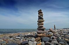 even stones are telling stories. just listen to it. [baltic sea, 2010]