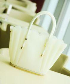 White Jelly Tote Bag