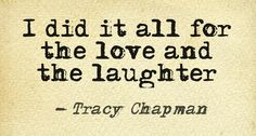 I Did It All by Tracy Chapman