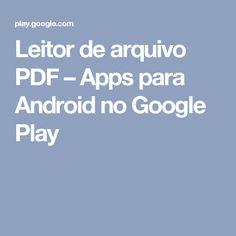 Leitor de arquivo PDF – Apps para Android no Google Play