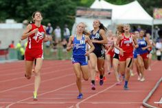 Sandy Valley's Andra Lehotay wins the Divison II girls 800-meter run at the OHSAA championships.