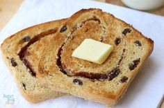 Easy Homemade Cinnamon Raisin Bread Recipe