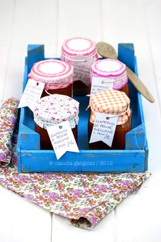 Peach Apricot and Fig Jam