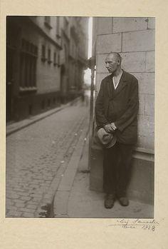 August Sander, Arbeitslos, 1928.