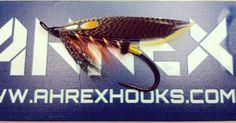 Thunder&Lightning on the new Ahrex HR410 size 1. Using the new, very nice Pro Jc sub. #prosportfisher #flytying #theflycompany #flugbindning #regalvise #whitingfarms #ahrexhooks #salmonfly #salmonflies www.butimag.com/...