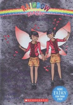 J SERIES RAINBOW MAGIC. Invited to a special birthday party for twins, Kirsty and Rachel see double everywhere they look and assist fairy twins Lila and Mila, whose twin magic has been stolen by Jack Frost.