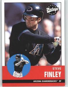 2001 Upper Deck Vintage 225 Steve Finley - Arizona Diamondbacks (Baseball Cards) * Check this awesome product by going to the link at the image.