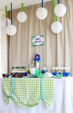 """Golf Party """"Caddie Sweet Spot"""" for my Dad's 1st Birthday Parties, Birthday Party Decorations, Birthday Ideas, 2nd Birthday, Golf Decorations, Birthday Celebrations, Happy Birthday, Golf Baby Showers, Golf Party"""