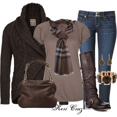Cute & Cozy by keri-cruz on Polyvore