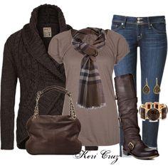 Cute & Cozy by keri-cruz on Polyvore