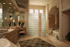 Bathroom Walk-in Shower Design Ideas, Pictures, Remodel, and Decor - page 429