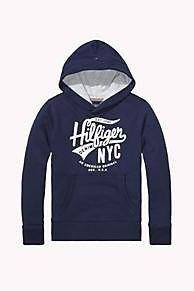 De Hoody Van Gemengd Katoen is het hoogtepunt van dit seizoen: Uit de nieuwste Tommy Hilfiger truien