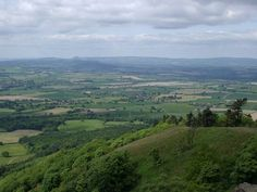 Top of The Wrekin in Telford, a place I really should climb more often than I do as the views are beautiful