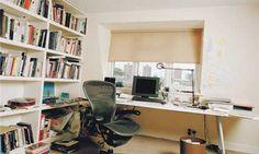 Alain de Botton's post baby writing room