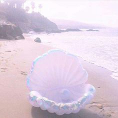 MERMAID SEASHELL RAFT...oh this is so cool!!  Find one like it here (affiliate)--->http://amzn.to/2kUGhnP .