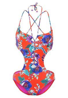 Bañador  de mujer color naranja oscuro de Seafolly Seafolly Bañador tangelo Ofertas en Zalando.es | Material exterior: 87% nylon, 13% elastano | Ofertas ¡Haz tu pedido en Zalando.es y disfruta de gastos de enví-o gratuitos! #bañador #swimsuit #monokini #maillot #onepiece #bathingsuit