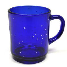 RonHerman(ロンハーマン)×DURALEX(デュラレックス)VERSAILLESSAPHIRマグカップブルー星
