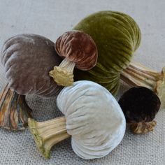 LoveFeast Shop | Velvet Plush Mushrooms