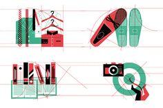IL #40, Cover + Coverstory Design by LA TIGRE , via Behance