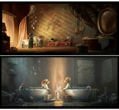 "Patrick Muylkens - ""The Tale of Despereaux"" concept art"