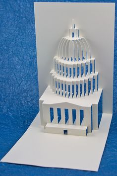 Capitol Hill Popup Card by Masahiro Chatani