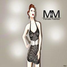 Diosaharu Adamski: M&M   Outfit: GELISA FLOWER DRESS MESHModel &Photo...