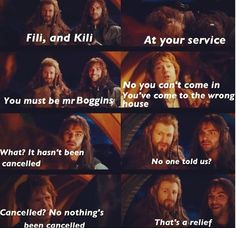 One of my favorite parts on the movie... because it's the first time you see Fili and Kili. ;D