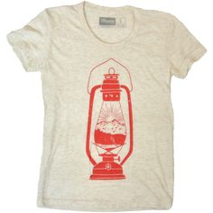 816ff5f8f Women's Camp Lantern T-Shirt by Moore available at Withal now. The place to  get inspired goods by local makers.