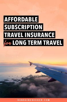 Is SafetyWing the best travel insurance for long term travel and digital nomads? Click through to learn more about their subscription travel insurance Budget Travel, Us Travel, Best Travel Insurance, Travel Advice, Travel Hacks, Travel Tips, Digital Nomad, Airplane View, Driving Tips