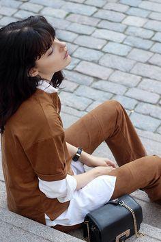 fashion worries: FALL COLORS Daniel Wellington Watch, Kenzo, Ruffle Blouse, Colors, My Style, Fall, Tops, Women, Fashion