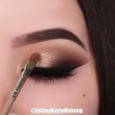 Makeup Eye Looks, Eye Makeup Steps, Beautiful Eye Makeup, Eyebrow Makeup, Eyeshadow Makeup, Makeup Cosmetics, Unique Makeup, Easy Eye Makeup, Adele Makeup
