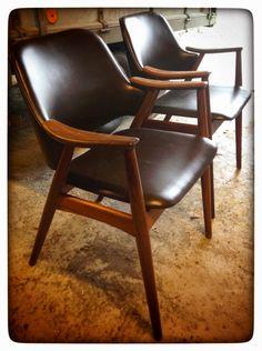 Original Dokka 60's chairs. Norwegian design. My granny has one!