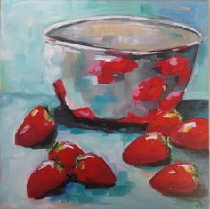 Artist: Olivia Denahy www.themagicandthemundane.blogspot.com.au My Arts, Artist, Painting, Wine Cellars, Artists, Painting Art, Paintings, Painted Canvas, Drawings