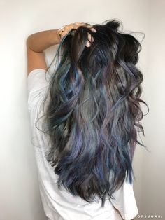 Oceanic Brunette Hair Color Trend | POPSUGAR Beauty