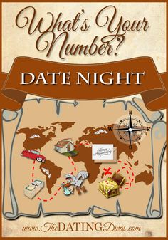 Map out the future on your next date night. www.TheDatingDivas.com #finance #money #number