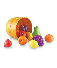 Love this Bushel of Fruit Set by New Sprouts on #zulily! #zulilyfinds