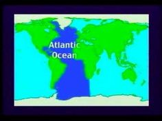 kid friendly naming of the continents and oceans video