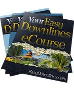 Easy Downlines e Course Business Opportunities, Affiliate Marketing, Easy, Free