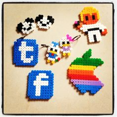 Crafts perler beads by anavcastillo. these are great! I have tons of those beads that i dont use!