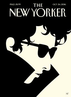 """The Laureate"", copertina per The New Yorker, 24 ottobre 2016"