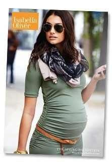 Maternity outfit- tunic with belt below the baby bump. Accessorize with a scarf and bangle bracelets! Would be cute with heels. Could add a blazer, leggings, and boots for colder days!